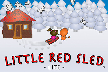 Little Red Sled, Little Red Sled iphone,Little Red Sled review, Little Red Sled game app, Little Red Sled iphone game app,Little Red Sled game app review