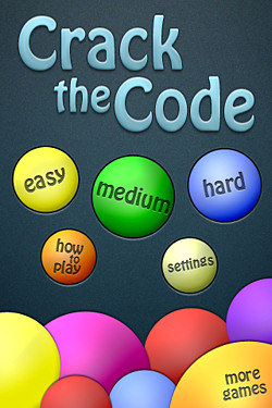 Crack the code mastermind game app for the iPhone review by Craig ...