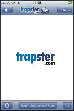 The Trapster - Speed Camera app for the iphone review by Craig Moore